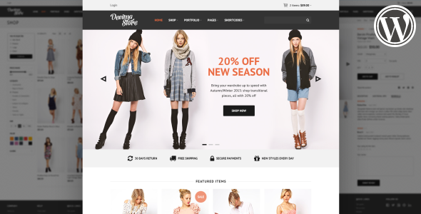 Decima WooCommerce WordPress Template
