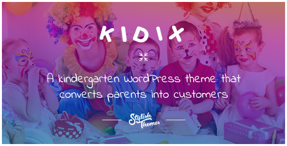 KIDIX - Ein Kindergarten WordPress Template