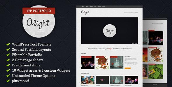 Alight - WordPress Portfolio