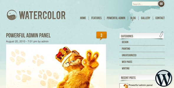 Aquarell WordPress