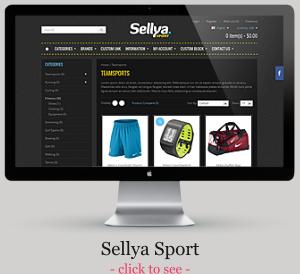 Sellya - Responsives WooCommerce-Thema
