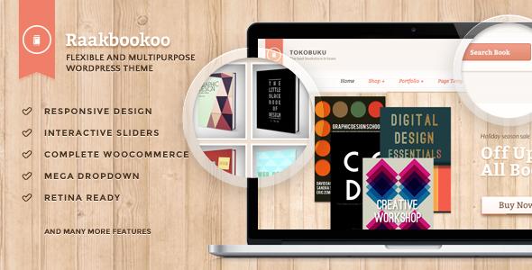 Raakbookoo - Woocommerce Layout für Buchladen