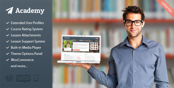 Akademie - Learning Management Template
