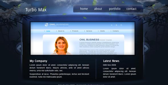 TurboMax - Alles in einem - WordPress Template