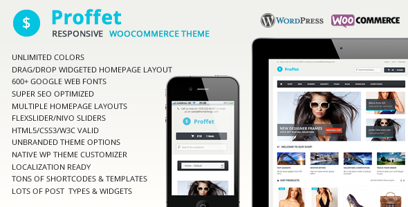 Proffet - Responsives WooCommerce Layout