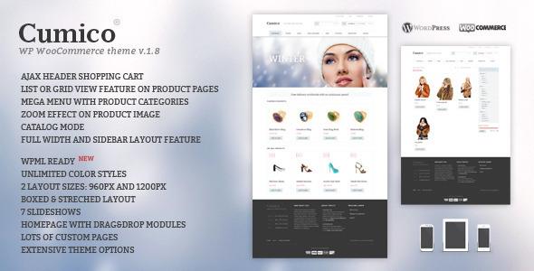 Cumico WP E-Commerce-Thema