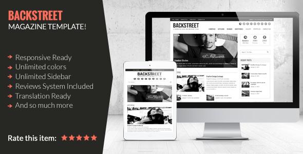 Backstreet - Blog & Magazin Thema