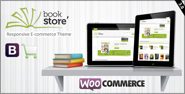 Responsive WooCommerce Layout des Buchladens