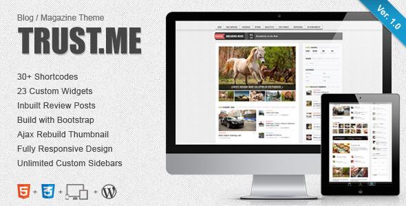 Pravda - Retina Responsives WordPress Blog Layout