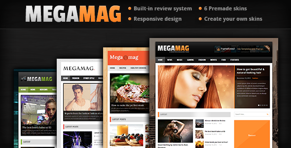 MEGAMAG - Ein responsives Blog / Magazin Style Layout