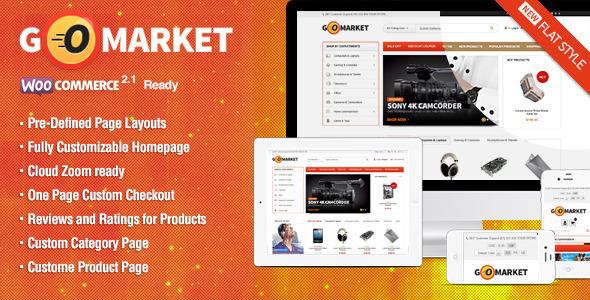 WooCommerce Supermarkt-Thema - GoMarket