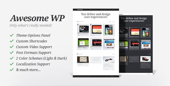 Super WP - Portfolio Vorlage
