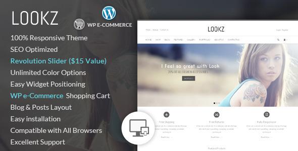 Lookz - Wordpress E-Commerce-Thema