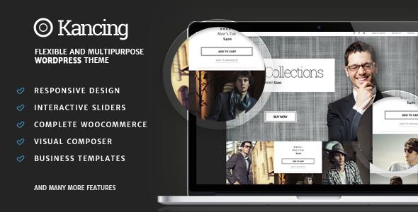 Kancing - Mode WooCommerce WordPress Template