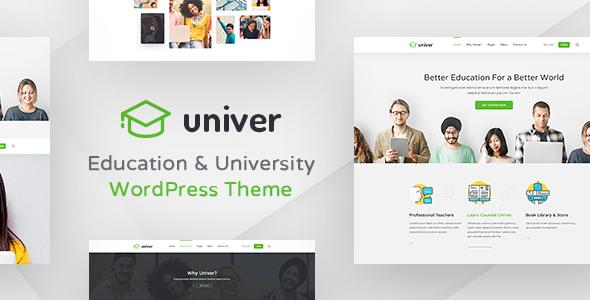 Universität WordPress Template - Univer