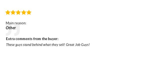 UberShop - Diese Jungs stehen hinter dem, was sie verkaufen! Tolle Job Jungs!