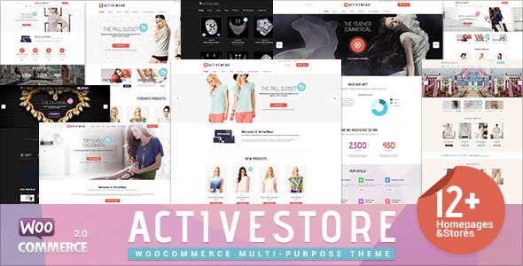 ActiveWear WooCommerce Responsives WordPress Template