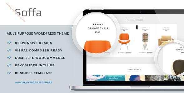 Soffa - Möbel & Business WordPress Layout