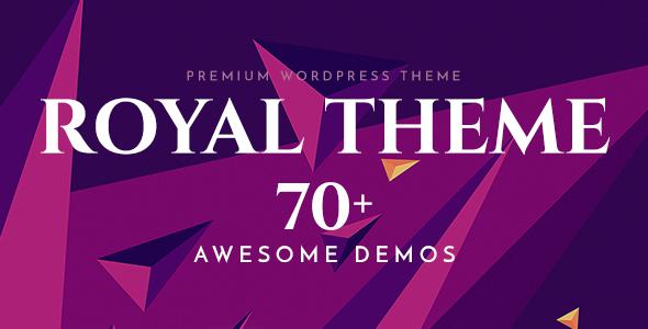 Royal - Mehrzweck-WordPress-Template