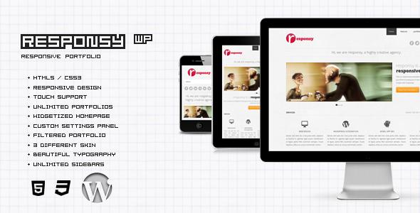 Responsy WP - Responsives HTML5 Portfolio