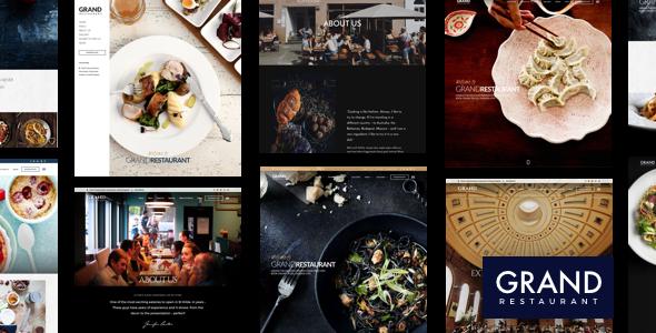 Grand Restaurant | Restaurant WordPress für Restaurant