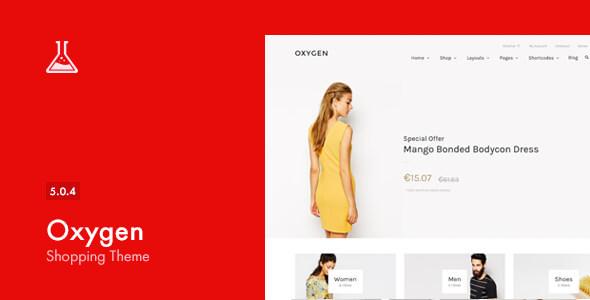 Oxygen - WooCommerce WordPress Vorlage