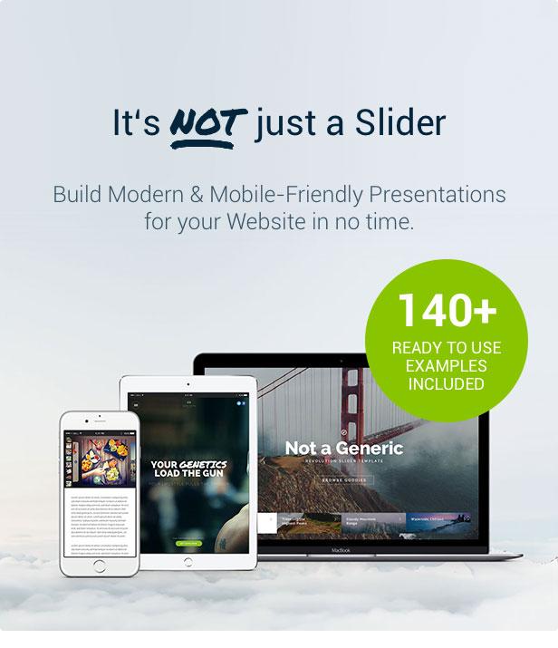 Slider Revolution Nicht nur ein Slider