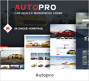 AutoPro - Autohändler WordPress Layout