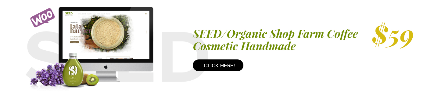 SEED Organic WordPress Layout