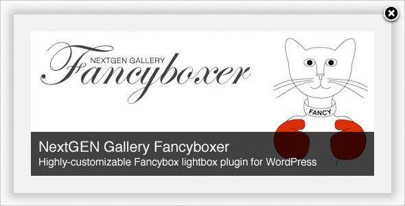 NextGEN Galerie Fancyboxer