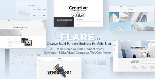 Reaktionsschnelles flexibles WordPress-Theme | Fackel