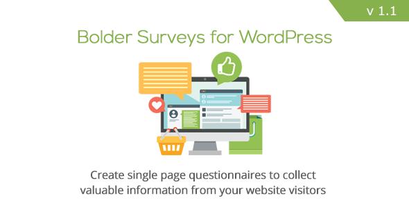 Bolder Umfragen für WordPress