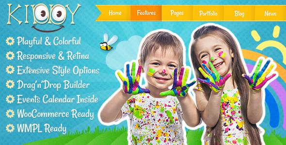 Kiddy - Kinder WordPress Thema