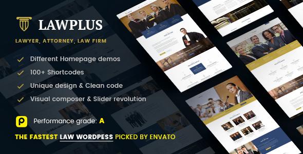 Law Plus - Law Responsive WordPress Theme (Anwalt, Anwaltskanzlei, Rechtsanwalt, Anwaltskanzlei)