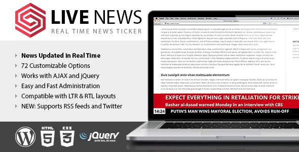 News Live Ticker