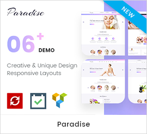 Paradies - Mehrzweck Spa & Beauty WordPress Layout
