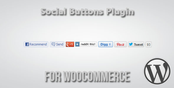 Social Buttons für WooCommerce