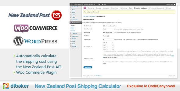 WooCommerce Neuseeland Postversandrechner