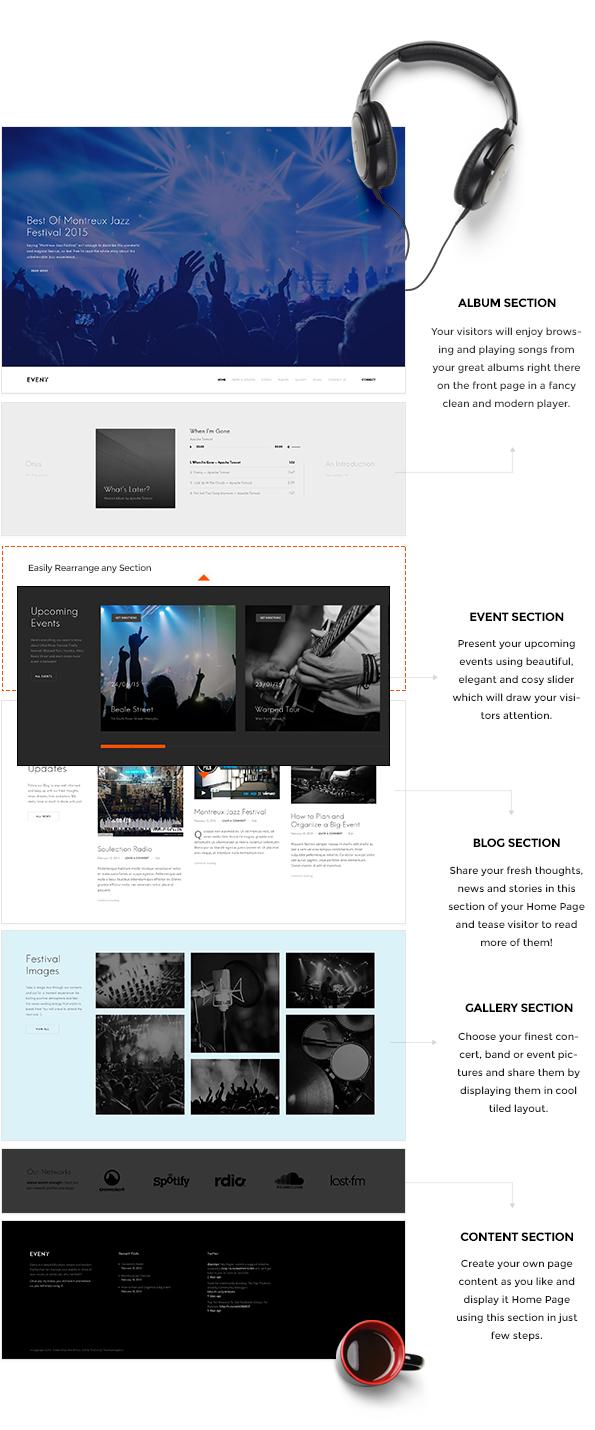 In hohem Grade kundengerechte Homepage