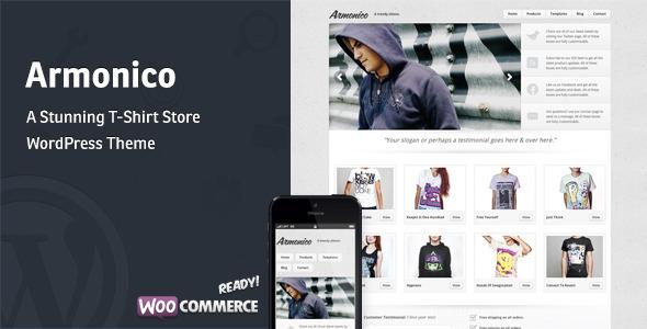 Armonico - Ein atemberaubender Tee Shop WordPress Layout