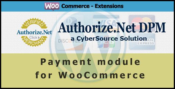 Authorize.net DPM Payment Gateway für WooCommerce