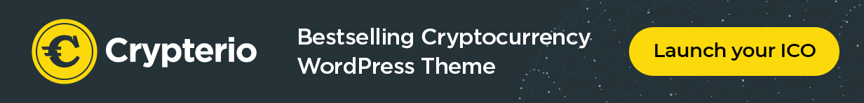 Cryptocurrency WordPress Vorlage mit ICO Landing Page, ICO Listing und Crypto Consulting Demos