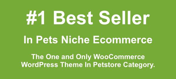 Pet Store - WordPress WooCommerce Layout für Haustiere und Tierärzte