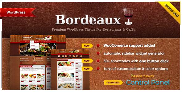 Bordeaux - Premium Restaurant Thema