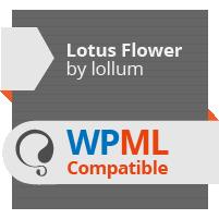 Lotus Flower - flexibles Mehrzweckladen-Thema