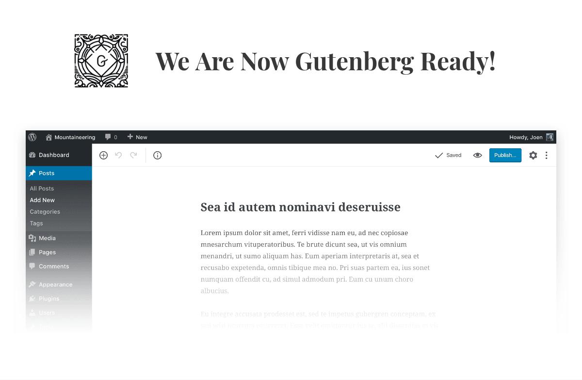 Gutenberg-Redakteur für WordPress