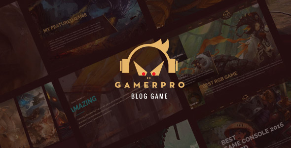 Gamepro WordPress-Thema