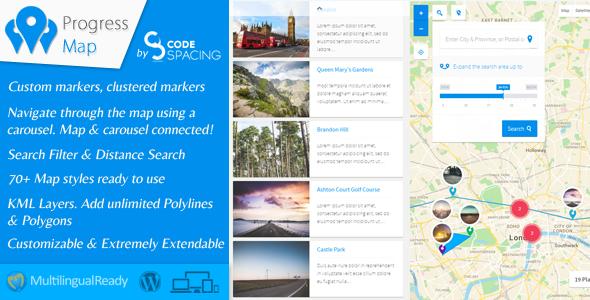 Fortschrittskarte Wordpress Plugin - Agentur zweigelb