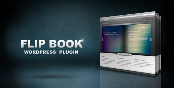 Flip Buch WordPress Plugin