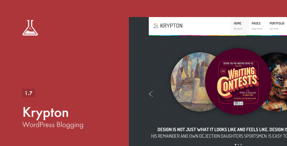 Krypton: Responsive Business und Portfolio Template
